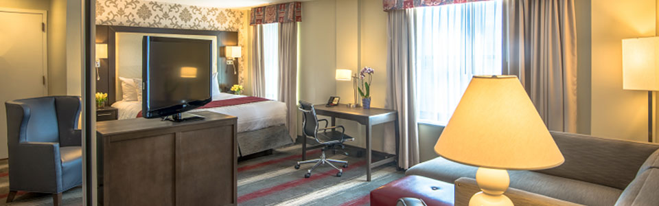 boutique hotel room in washington dc
